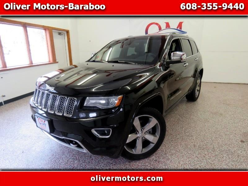 Jeep Grand Cherokee 4dr Overland 4WD 2014