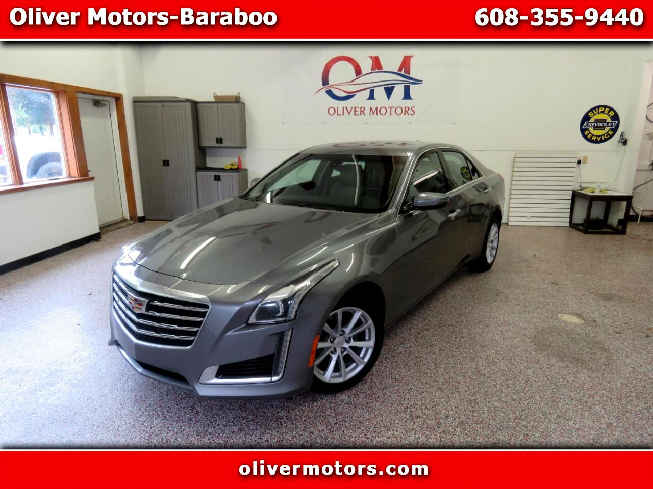 Cadillac CTS Sedan 4dr Sdn 2.0L Turbo AWD 2018