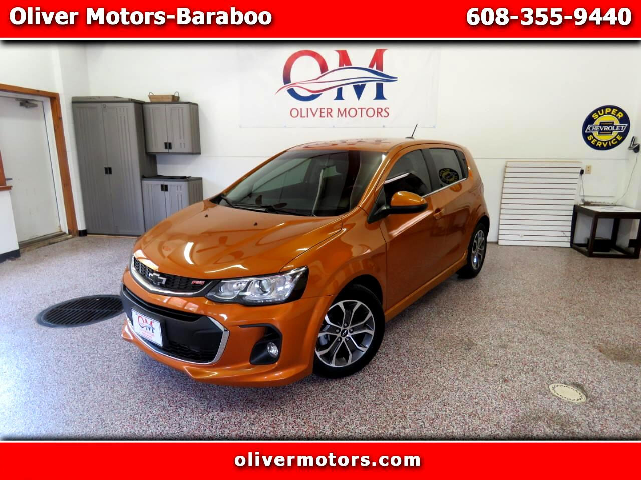 Chevrolet Sonic 5dr HB Auto RS 2019