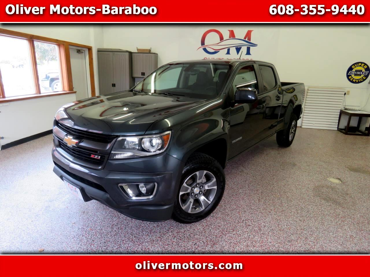 "Chevrolet Colorado 4WD Crew Cab 140.5"" Z71 2015"