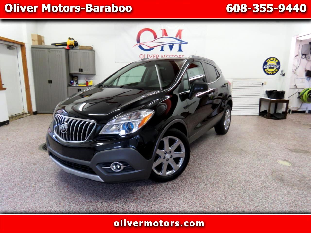 Buick Encore AWD 4dr Leather 2013