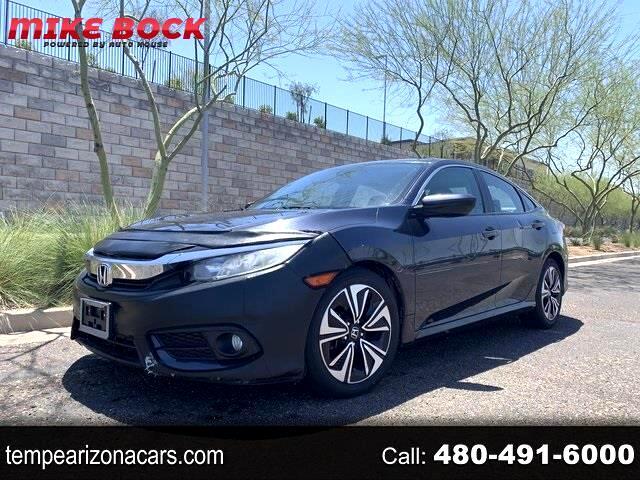 Honda Civic EX-T Sedan CVT 2016