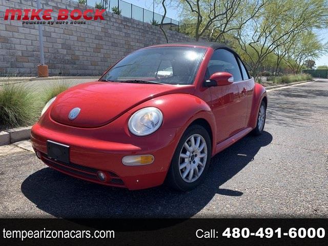 Volkswagen New Beetle GLS 2.0L Convertible 2005