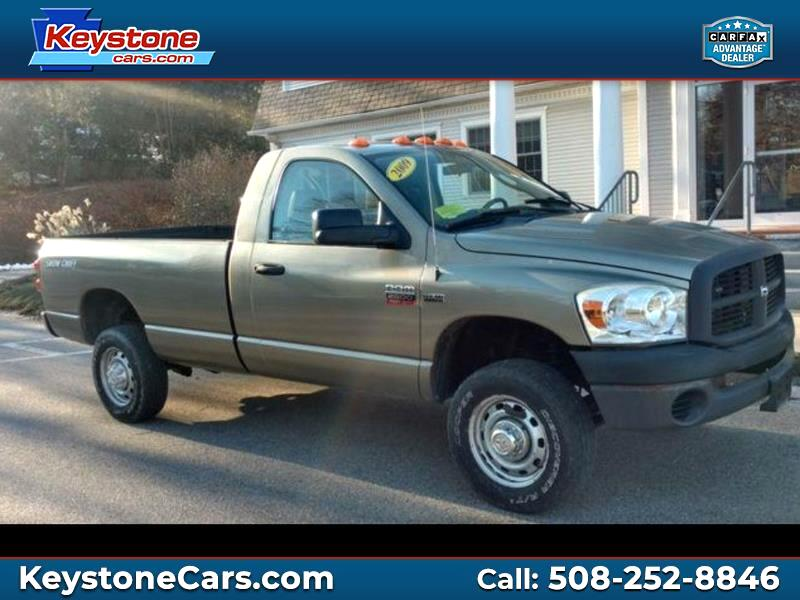 2009 Dodge Ram 2500 HD Reg. Cab 8-ft. Bed 4WD