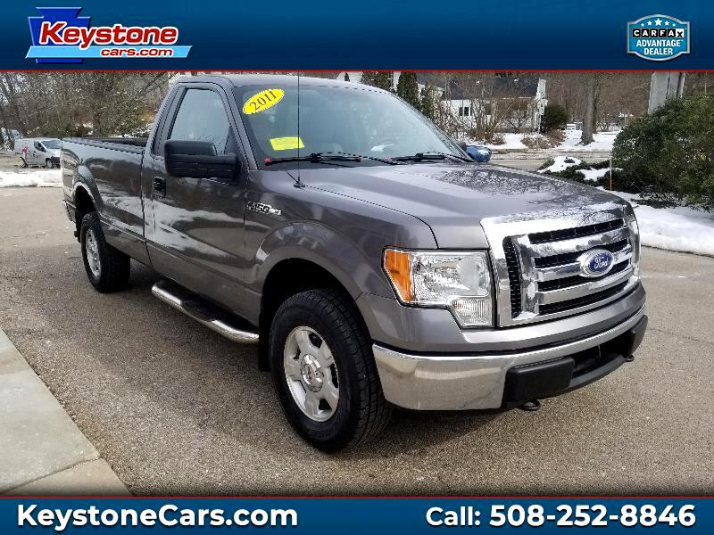 2011 Ford F-150 XLT Reg. Cab Long Bed 4WD