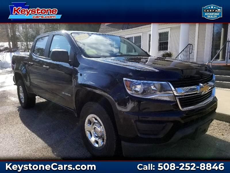 "2016 Chevrolet Colorado 4WD Crew Cab 140.5"" Work Truck"