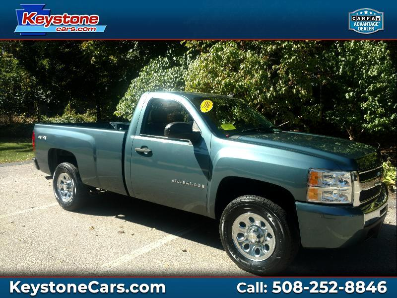 Chevrolet Silverado 1500 Regular Cab Long Bed 4WD 2009