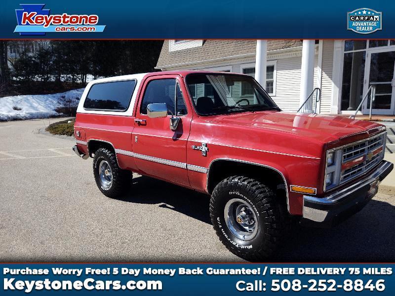 Chevrolet Blazer 2-Door 4WD 1987