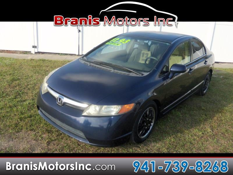 2006 Honda Civic 4dr Sedan LX (A5)