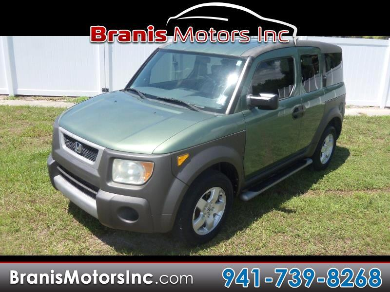 2004 Honda Element Front-wheel Drive EX w/Si