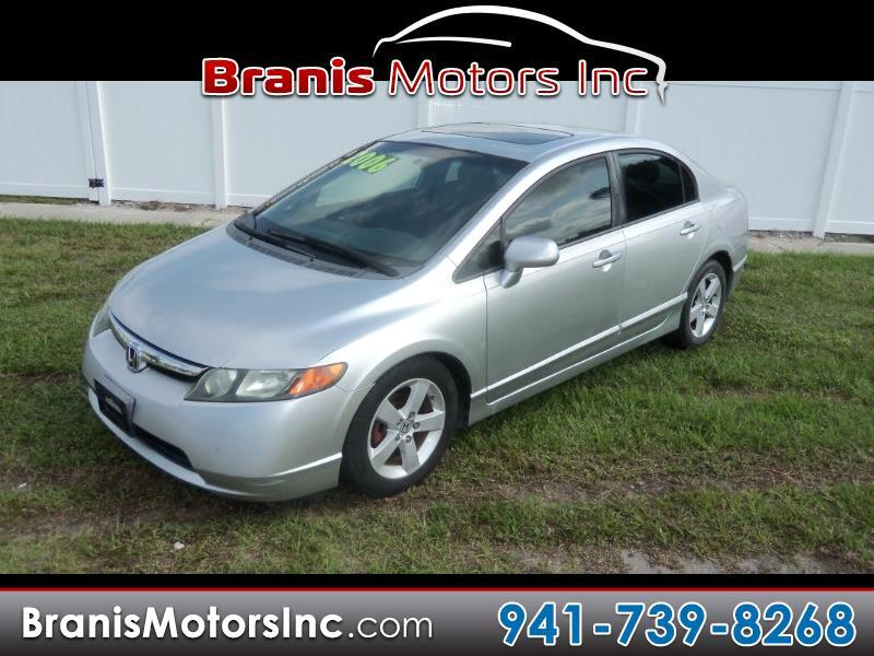 2006 Honda Civic 4dr Sedan EX (A5)