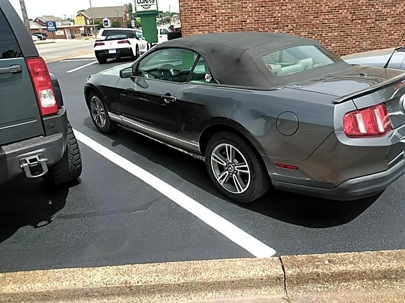 2010 Ford Mustang V6 Convertible