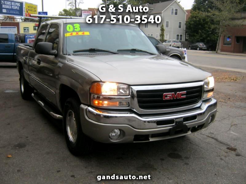 GMC Sierra 1500 SLE Ext. Cab Short Bed 4WD 2003