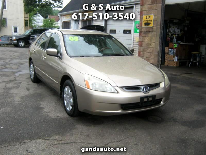 Honda Accord LX sedan AT 2003