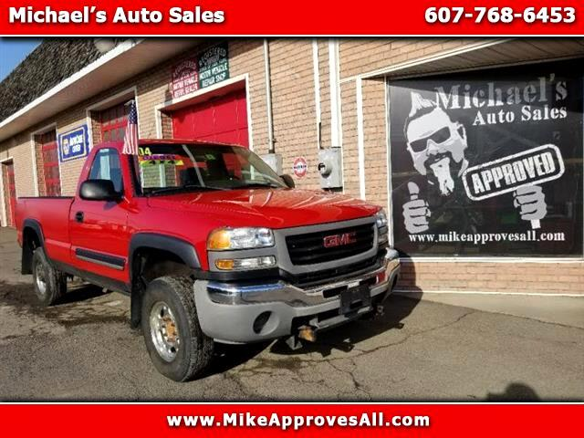 2004 GMC Sierra 2500HD Work Truck 4WD