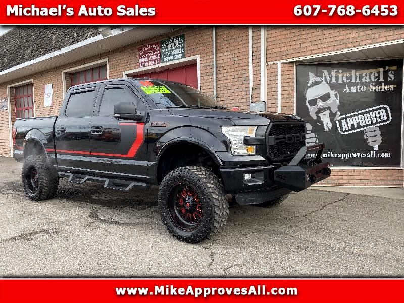 "2015 Ford F-150 SuperCrew 139"" XLT 4WD"