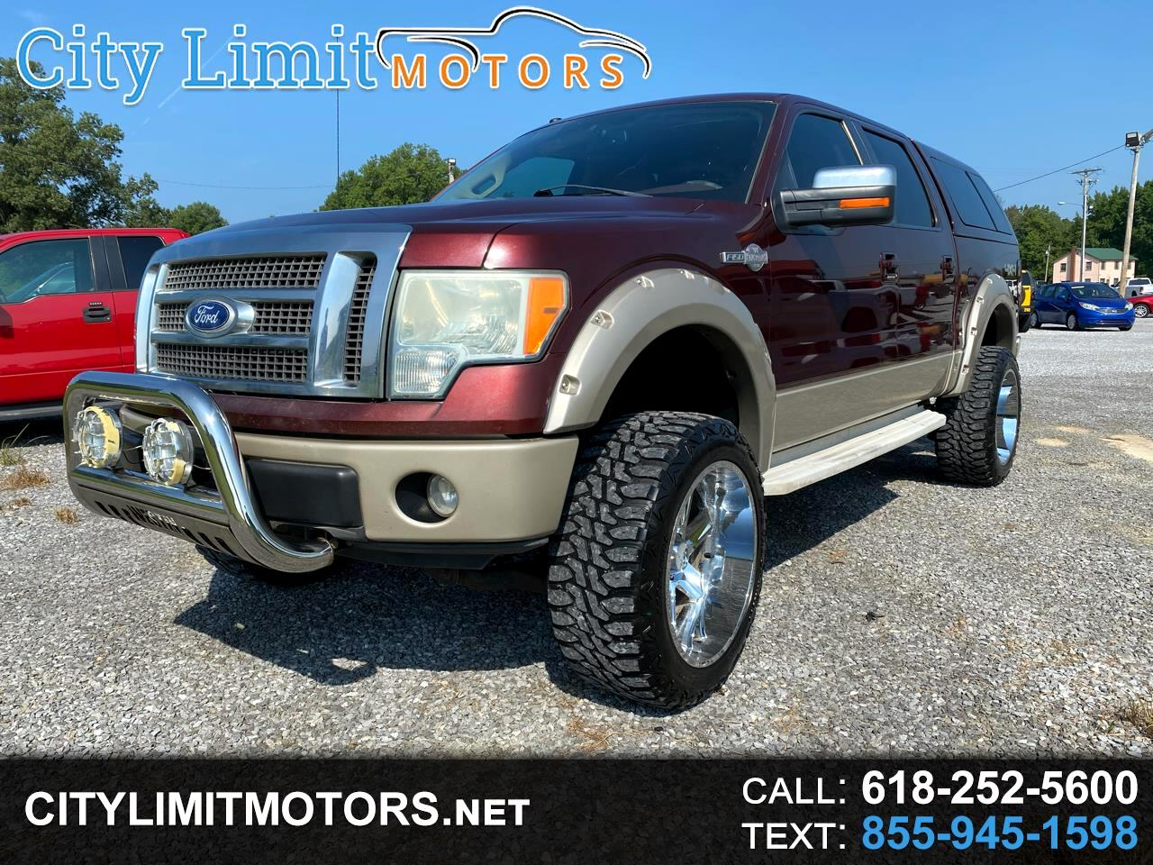 """Ford F-150 SuperCrew 139"""" King Ranch 4WD 2010"""