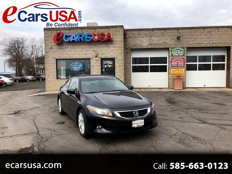 2008 Honda Accord EX-L V-6 Coupe 6-Speed