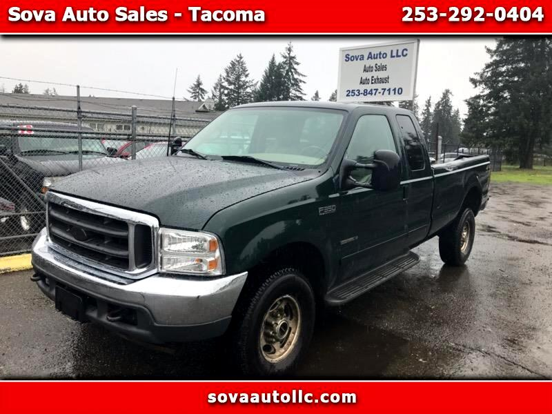Ford F-350 SD XL SuperCab Short Bed 4WD 2001