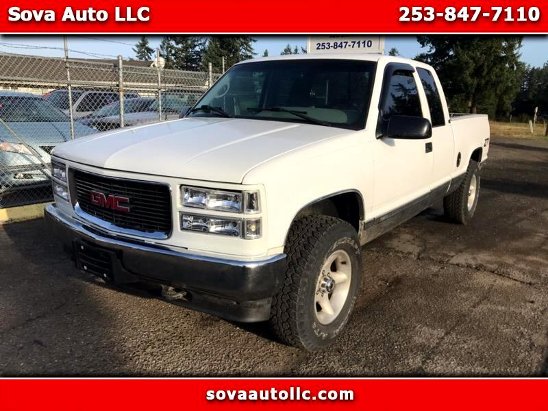 1995 GMC Sierra C/K 1500 Ext. Cab  6.5-ft. Bed 4WD