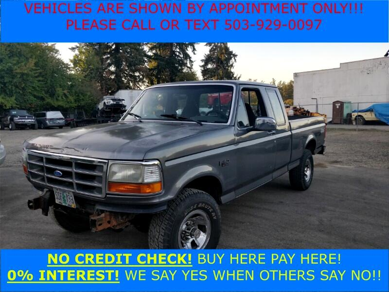 1992 Ford F-150 Custom SuperCab Short Bed 4WD