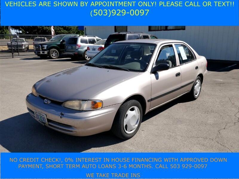 2001 Chevrolet Prizm LSi
