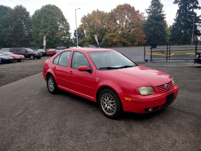 2001 Volkswagen Jetta Wolfsburg Edition GLS 1.8T