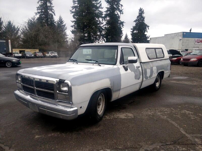 Dodge D250 Reg. Cab 8-ft. Bed 2WD 1991