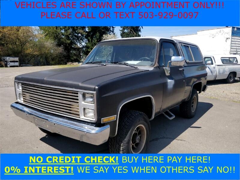 1988 Chevrolet Blazer 2dr 4WD