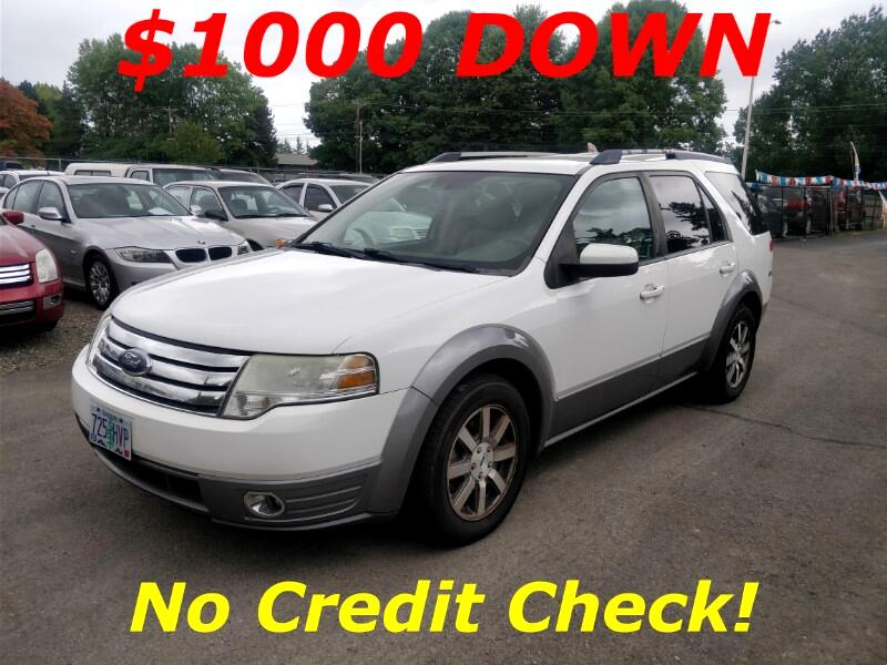 No Credit Check Car Lots >> Used 2008 Ford Taurus X 4dr Wgn Sel Awd For Sale In Salem Or