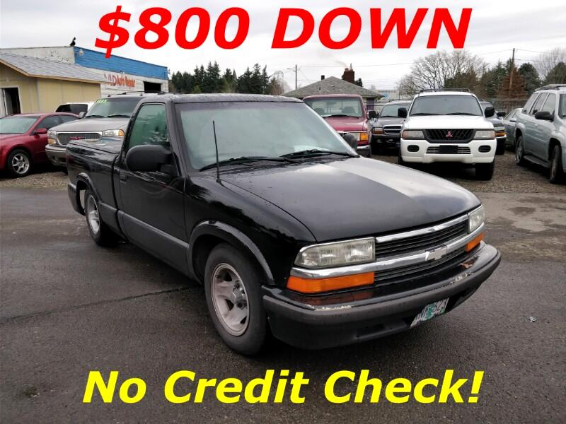 Chevrolet S10 Pickup Reg. Cab Short Bed 2WD 1998