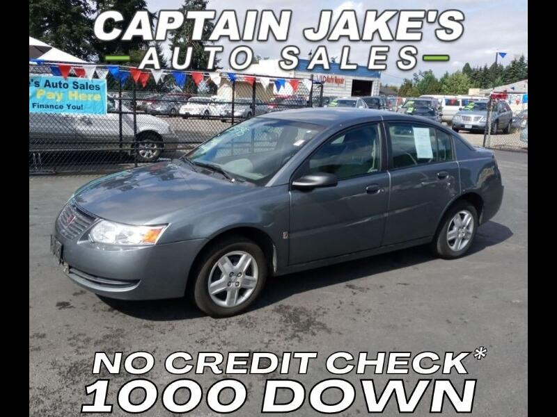 Saturn ION 2 Sedan Manual 2007