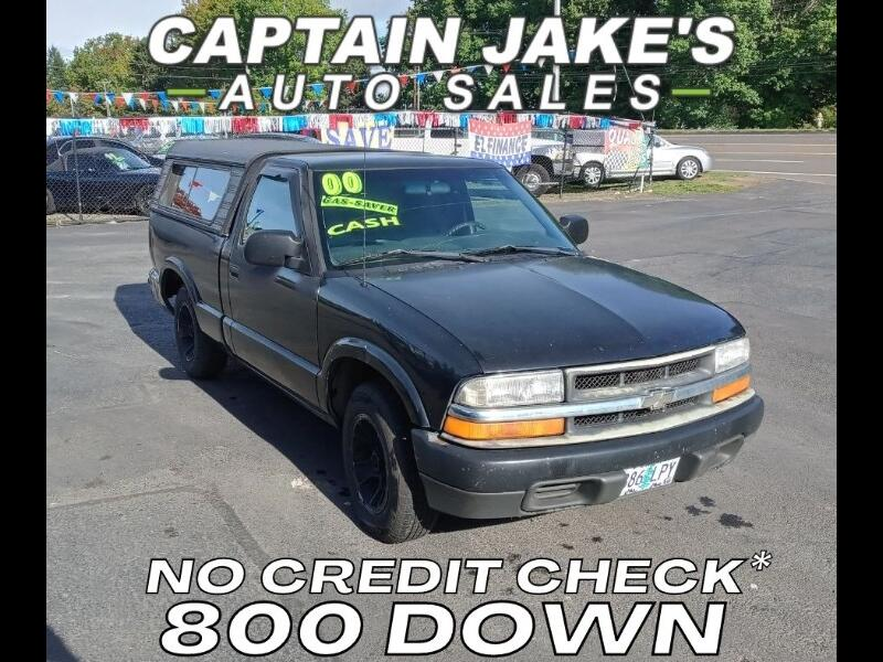 Chevrolet S10 Pickup Short Bed 2WD 2000