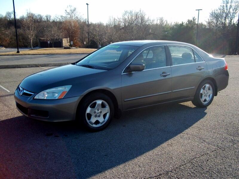 2006 Honda Accord EX Sedan with Side Curtain Airbags
