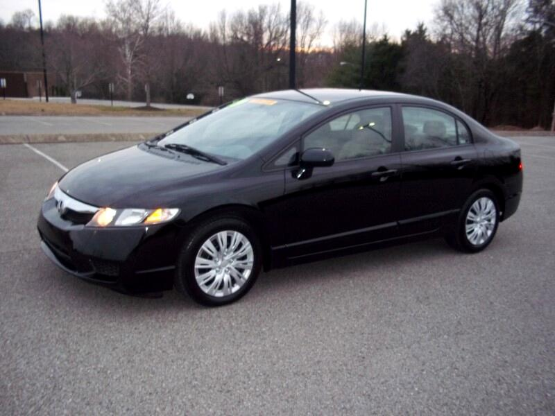 2009 Honda Civic LX Sedan AT with Front Side Airbags