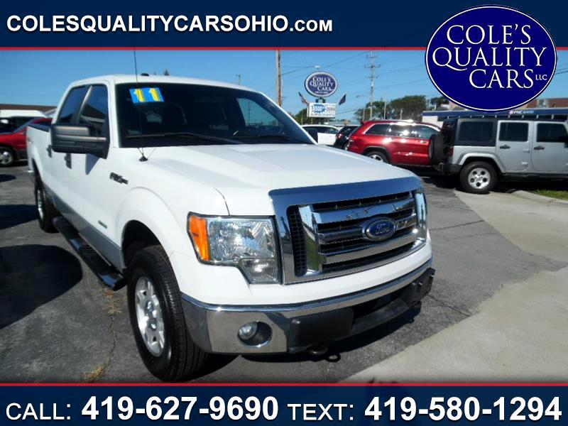 2011 Ford F-150 XL SuperCrew 6.5-ft. Bed 4WD