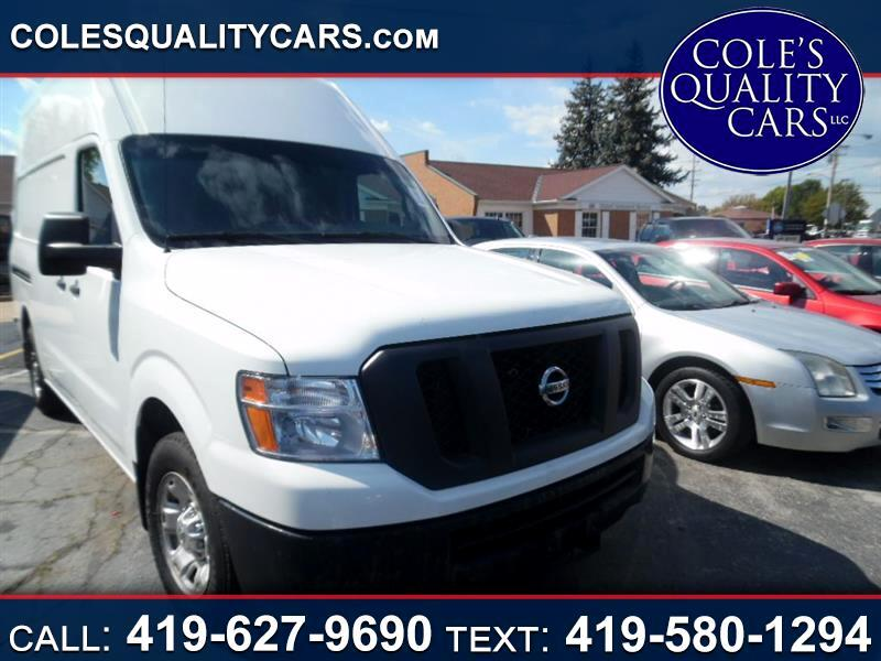 2013 Nissan NV Cargo 2500 HD S V6 High Roof