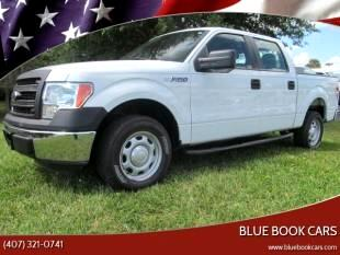 "2014 Ford F-150 SuperCrew Crew Cab 139"" XLT"