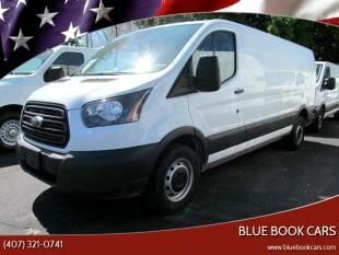 "2017 Ford Transit Cargo Van T-150 148"" Low Rf 8600 GVWR Sliding RH Dr"