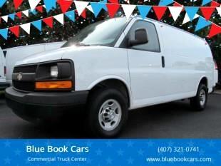 "2014 Chevrolet Express Cargo Van 2500 135"" WB RWD"