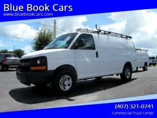 "2015 Chevrolet Express Cargo Van 2500 135"" WB RWD"