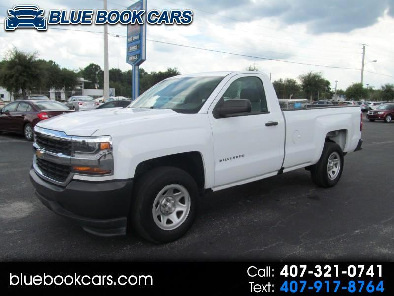 2016 Chevrolet Silverado 1500 1LT Regular Cab Long Box 2WD