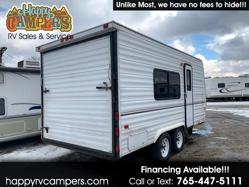 Used 2002 Carson Utility Trailer Toy Hauler For Sale In