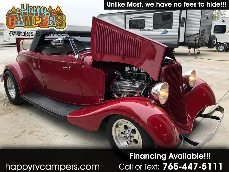 1933 Ford Roadster RUMBLE SEAT