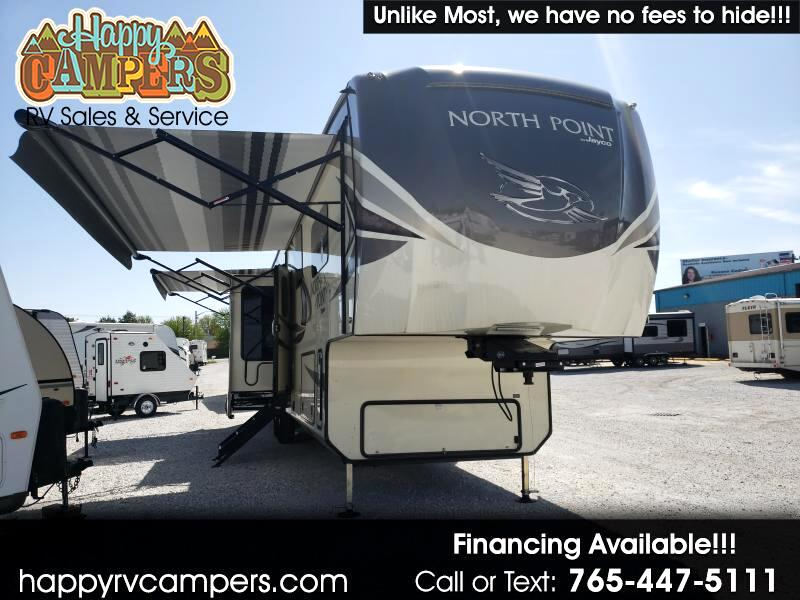2018 Jayco North Point Luxury 387RDFS