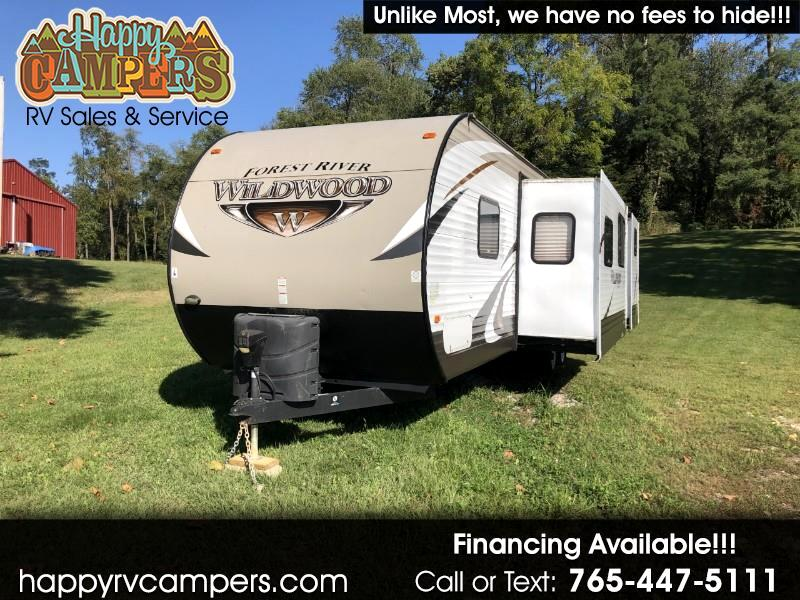 2015 Forest River Wildwood WDT32BHDS