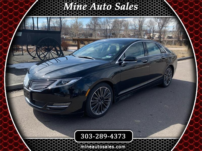 Lincoln MKZ 4dr Sdn Black Label AWD 2015
