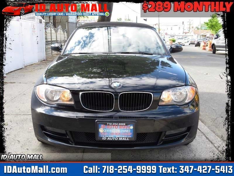 2009 BMW 1-Series 128i Convertible