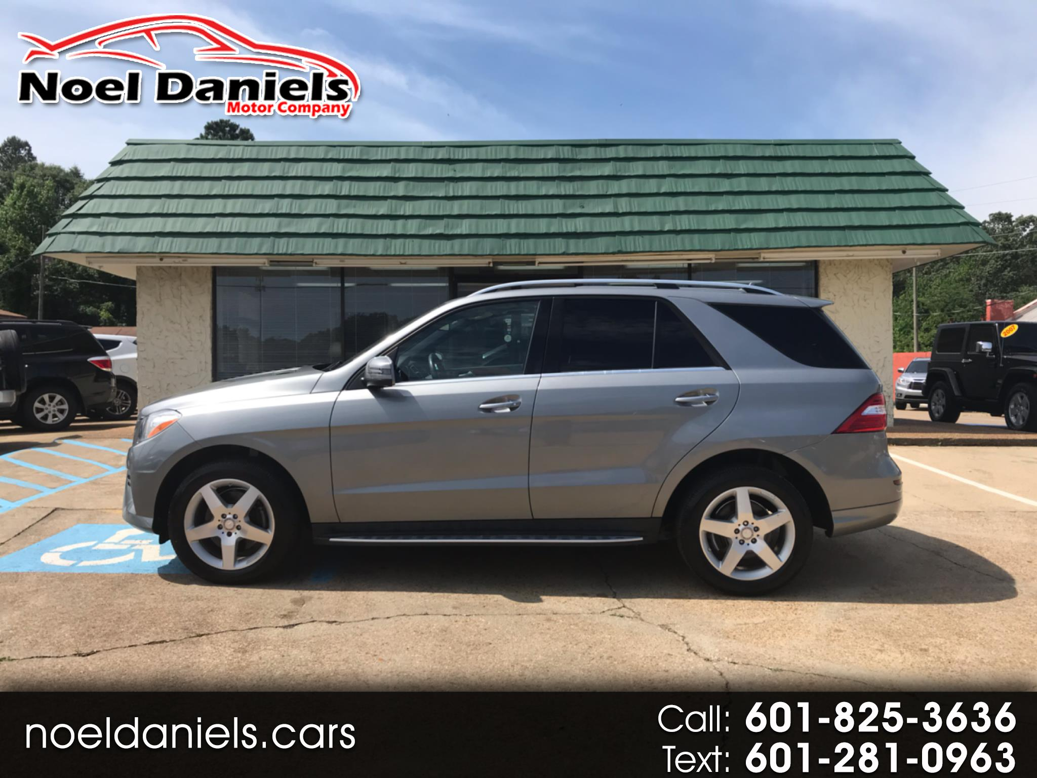 2014 Mercedes-Benz M-Class ML 350 AWD 3.5L V6