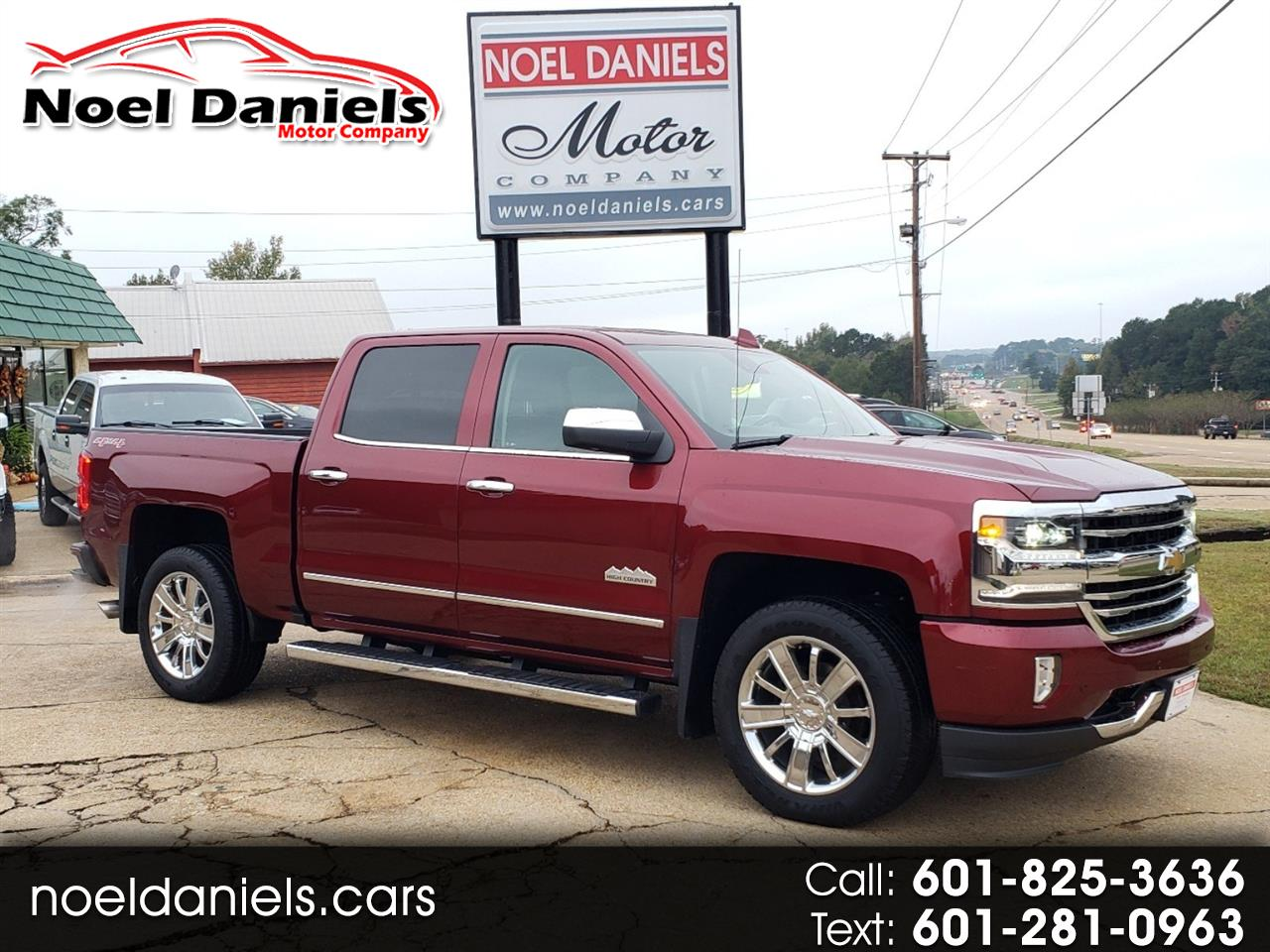 2017 Chevrolet Silverado 1500 4WD Crew Cab High Country 6.2L V8